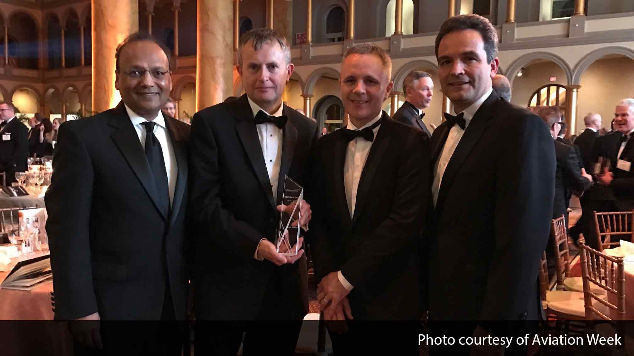 BAE Systems and Gulfstream were joint winners in the Technology category at Aviation Week 60th Annual Laureate Awards